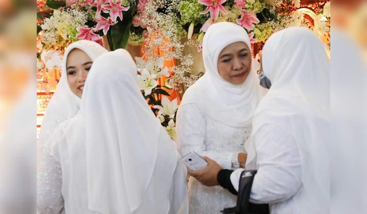 Resepsi Pernikahan Ima Fadil Pagi Modern Malam Jawa Berikut