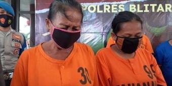 Dua Emak-emak asal Malang Curi Dagangan Toko di Blitar, Kepergok Pemilik