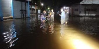 Diguyur Hujan 4 Jam, Banjir Rendam Lima Desa di Wonodadi, Blitar