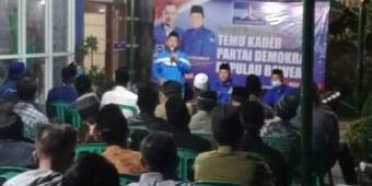 Hadiri Temu Kader Demokrat Gresik di Bawean, Bupati Gus Yani Ajak Bareng-bareng Kawal Nawa Karsa
