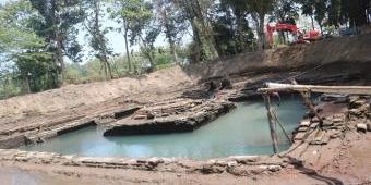 Ekskavasi Situs Sumberbeji Jombang, BPCB Jatim Temukan Pangkal Saluran Air