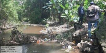 Tangani Kerusakan Tanggul Sungai di Wilayah Winongan, Pemkab Pasuruan Lakukan Pemasangan Bronjong