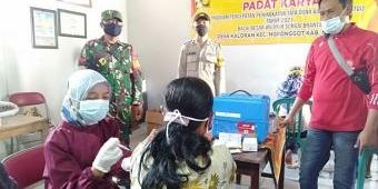 Antisipasi Sebaran Covid-19, Polres Nganjuk Gelar Percepatan Vaksinasi untuk Lansia