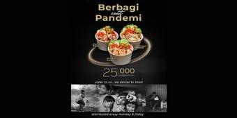 Lewat Program Berbagi Saat Pandemi, Surabaya Suites Hotel Ajak Masyarakat Salurkan Kebutuhan Makanan
