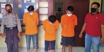 Edarkan Pil Dobel L, Tiga Pemuda Kediri Ditangkap Polisi