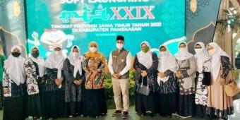 Pastikan Patuhi Prokes Ketat, Gubernur Khofifah Hadiri Soft Launching MTQ XXIX Jatim di Pamekasan