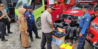Apel Kontijensi Jilid II, Polres Bojonegoro Mantapkan Kesiapan Hadapi Bencana