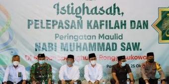 Bupati Pamekasan Lepas Kafilah di Ajang MTQ XXIX Jatim Sekaligus Peringati Maulid Nabi Muhammad SAW