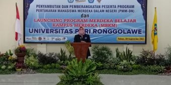 Unirow Tuban Paparkan Berbagai Prestasi dalam Launching MBKM