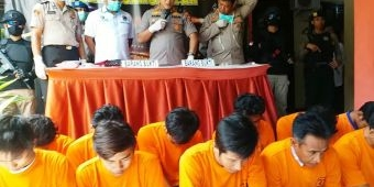 Polres Bangkalan Gulung 11 Tersangka Narkoba, 2 di antaranya Residivis