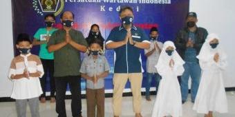 Jelang Hari Raya Idul Fitri, PWI Kediri Beri Santunan kepada 50 Anak Yatim Piatu dan Kaum Duafa