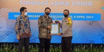 Kapolresta Sidoarjo Dinobatkan Jadi Tokoh Kamtibmas dalam Ajang PWI Jatim Award 2021