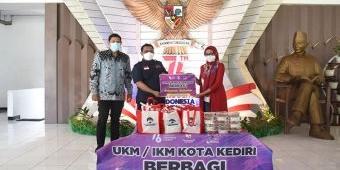 Bantu Warga Isoman, UKM/IKM Kota Kediri Dapat Apresiasi Tinggi dari Abdullah Abu Bakar