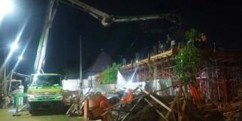 Progres Rendah, Pembangunan Garasi Pendopo Pemkab Pasuruan Disorot Kalangan LSM