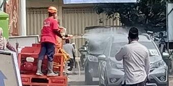 Petugas Gabungan Amankan Kedatangan Ribuan Santri Lirboyo