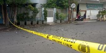 Kaca Berserakan, Terjadi Ledakan di Rumah Jalan Karyawan Kota Mojokerto