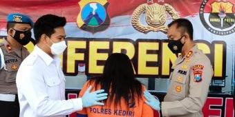 Satreskrim Polres Kediri Ungkap Kasus Pembunuhan Bayi