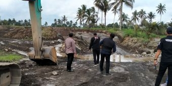 Polresta Banyuwangi Tertibkan Tiga Tambang Pasir Ilegal di Songgon