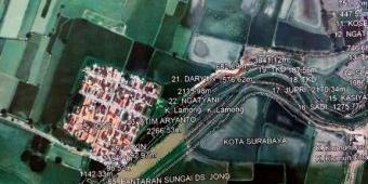 BPN Gresik Berharap Lahan 4,5 Ha untuk Normalisasi Kali Lamong Sudah Bisa Diukur Bulan Depan