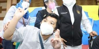 Tertinggi di Indonesia, Gubernur Khofifah: Vaksinasi Disabilitas di Jatim Capai 18.168 Orang