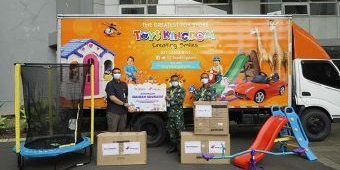 Hari Anak Nasional, Toys Kingdom Berikan 3.300 Mainan Edukatif untuk Pasien Anak di Wisma Atlet