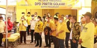Kota Pasuruan Zona Kuning, Gus Ipul: Vaksinasi Capai 55 Persen