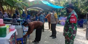 Ngawi Level I, Anggota TNI-Polri Awasi Ketat Hajatan Warga