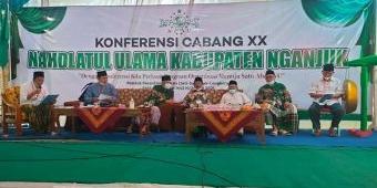 Duet KH. Hasyim Affandi - KH. Ali Mustofa Said Pimpin PCNU Nganjuk