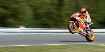 Hasil Kualifikasi MotoGP Ceko: Marquez Pole Position, Lorenzo Kedua, Rossi Keenam