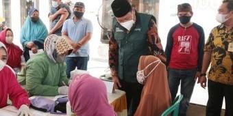 Kejar Target Level 1, Pemkab Sidoarjo Gencar Vaksinasi Jemput Bola ke Desa-Desa
