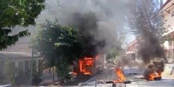 Buntut Pembakaran dan Perusakan Fasilitas Kampus IAIN Madura Saat Demo, Polisi Tahan 2 Mahasiswa