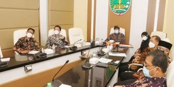 Langsung Rapat Internal, Wali Kota Pasuruan Tindak Lanjuti Arahan Jokowi Soal Pengendalian Inflasi