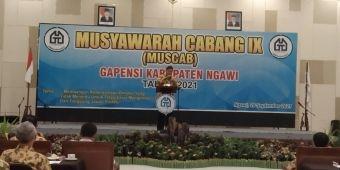 Muscab Gapensi Ngawi Periode 2021-2026, Anang Budi Santoso Terpilih Secara Aklamasi