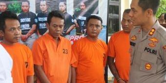 Polres Nganjuk Amankan 11 Pengedar Okerbaya Jaringan Lapas Madiun dan Jombang