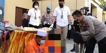 Edarkan Sabu, Bapak Dua Anak Dibekuk Satresnarkoba Polresta Sidoarjo