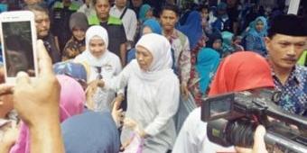 Khofifah Ajak Relawan dan Kader Demokrat di Kota Madiun Bersatu Pilih Nomor 1