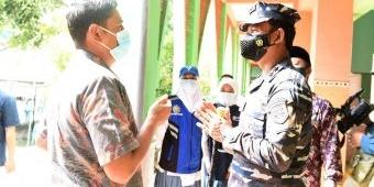 Pangkoarmada II TNI AL Gelontor 2.000 Dosis Vaksin, Wali Kota Kediri Sampaikan Apresiasi