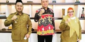 Wakil Bupati Ning Min Terpilih sebagai Ketua Cabang IKA PMII Gresik