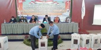 Rekapitulasi Penghitungan Suara Pilbup Mojokerto, Pasangan Ikhfina dan Gus Barra Menang Mutlak