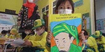 Peringati Hari Santri Nasional, TK Al-Hidayah Sidoarjo Gelar Lomba Mewarnai Tokoh Pendiri NU