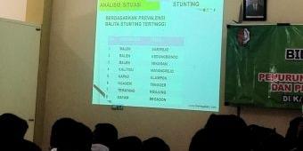 Pemkab Bojonegoro Gandeng Pendamping PKH Bantu Turunkan Angka Stunting