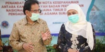 Gubernur Khofifah Apresiasi BPN Atas Pencapaian 100 Persen Target Realisasi PTSL Jatim 2020