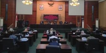 DPRD Jombang Gelar Paripurna Nota Penjelasan Raperda Perubahan APBD
