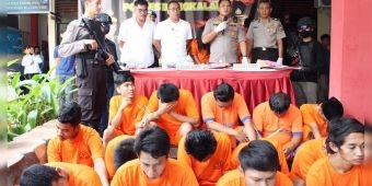 Sebulan, Polres Bangkalan Ringkus 25 Tersangka Narkoba, 13 di antaranya Terancam Hukuman Mati