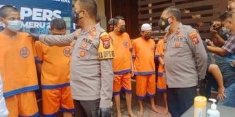 Tangkap 11 Pengedar, Polres Probolinggo Kota Amankan 0,5 Kg Sabu