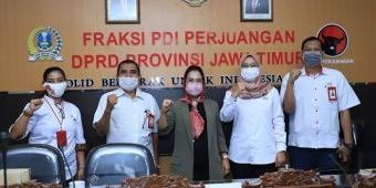 Tingkatkan Kompetensi Akademik Anggota, Fraksi PDIP DPRD Jatim Gandeng Untag