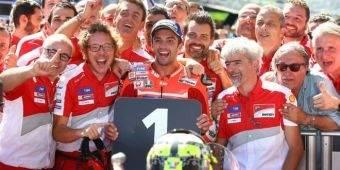 Menangi GP Austria, Iannone: Ini Adalah Momen Ajaib