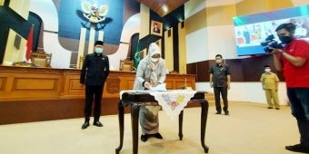 Sempat Diundur Dua Kali, KUPA PPAS Perubahan Akhirnya Disahkan DPRD Pasuruan