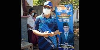 Anggota DPR RI Aminurokhman Beri Bantuan Mesin Potong Rumput kepada Pemuda Rejoso