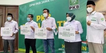 Fraksi PKB DPRD Jatim Urunan Bantu Anak Yatim Piatu Korban Covid-19